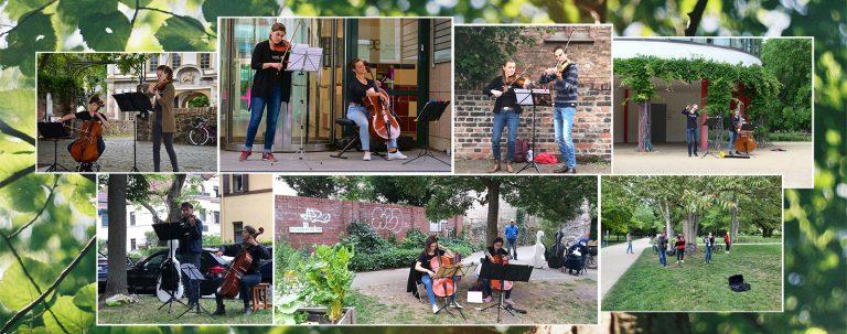 Fotocollage Nr.1 - Nachbarschaftsmusik